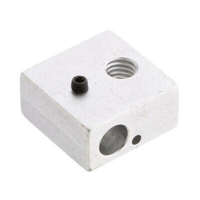 Durable Block Assembly Aluminum Heater for Hot End 3D Printer MK7//MK8 Extruder