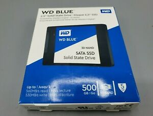 WD-Blue-2-5-034-Solid-State-Drive-500-GB-3D-NAND-SATA-SSD-Solid-State-Drive-New