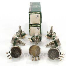 Vintage Lot Of 8 Clarostat Model 53c3 Potentiometers 250 Ohm