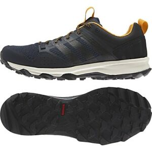8051750c023c60 adidas Kanadia Trail 7 Men s Running Shoes Offroad Trainers Navy ...