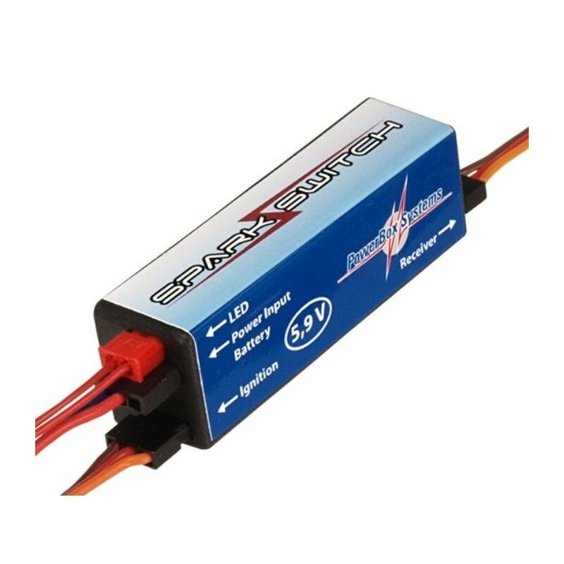 PowerBox Systems Spark Switch 5.9v Regulated