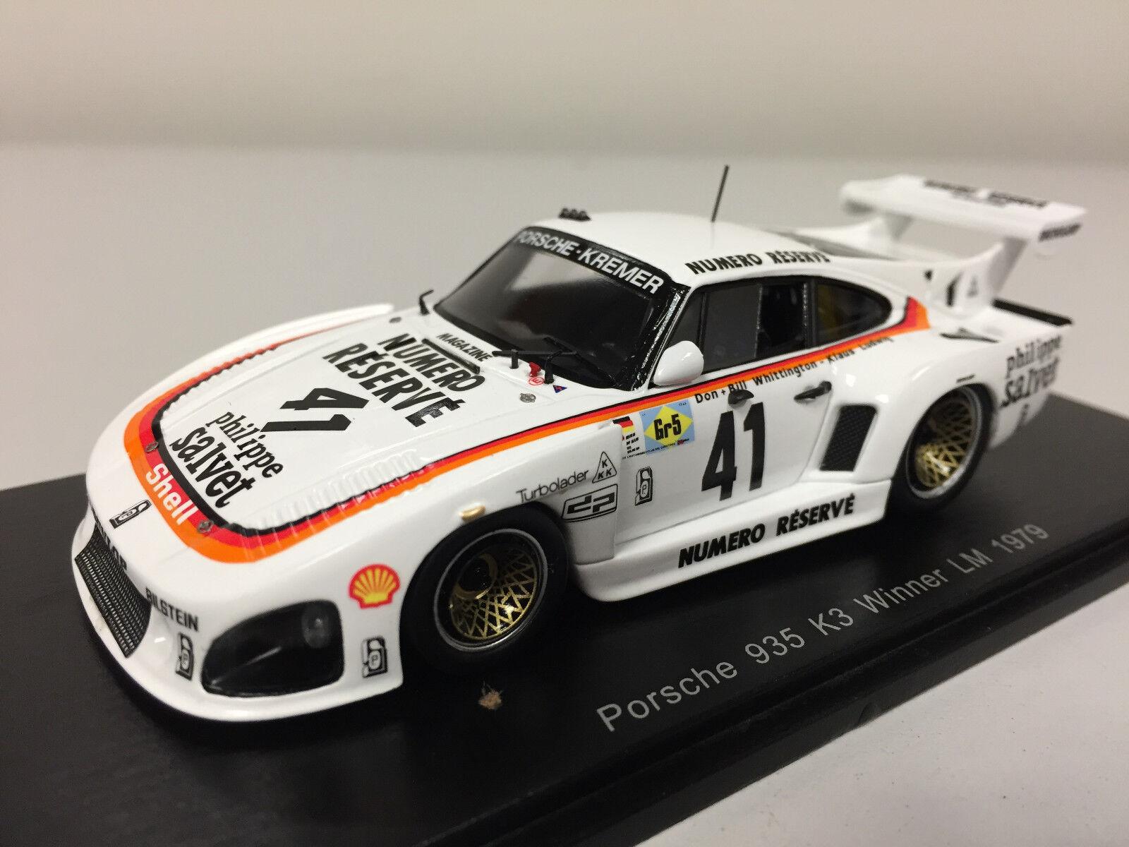 Spark porsche 935 k3   41  winner 24h of le hommes 1979 1 43 s43lm79  tout en haute qualité et prix bas