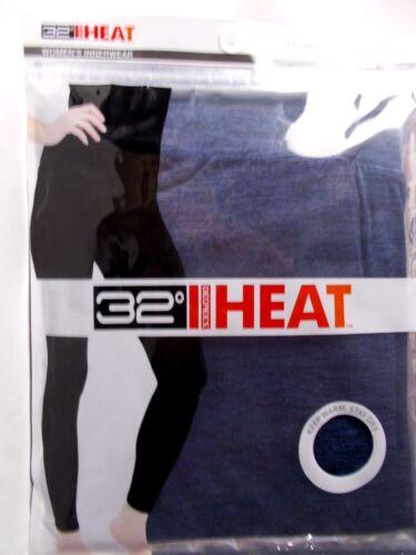 32 Degrees Women/'s Heat Base Layer Leggings Aster Blue Size Medium