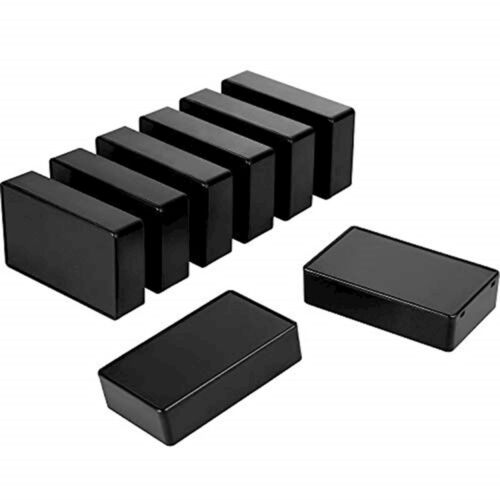 Jovitec 8 Pieces Plastic Waterproof Boxes Junction Case for Electronic Project,