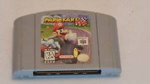 Mario Kart 64 (Nintendo N64, 1997) Original Authentic Cart Racing Tested Working