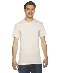 American-Apparel-Unisex-Triblend-Short-Sleeve-Track-T-Shirt-TR401-XS-2XL