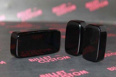 2010-2011 Chevrolet Camaro Billet Power Seat Control Button Covers Black