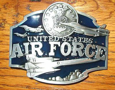 US Air Force Belt Buckle SR-71 Pilot United States Fighter Spy Plane