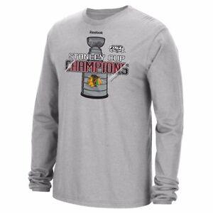 Chicago Blackhawks Stanley Cup Champions Locker Room T-Shirt