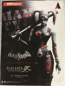 Play-Arts-Batman-Arkham-City-5-Harley-Quinn-Action-Figure