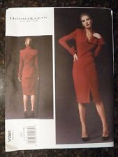 Vogue V1361 Donna Karan Collection Designer Original 2013 sz 4/6/8/10/12 Uncut