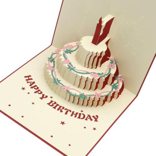 Hochzeitskarte Glückwunsch Einladung Glückwunschkarten 3D Popup Grußkarten