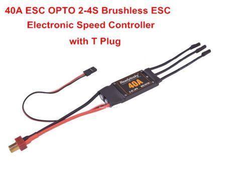 E39B 40A 2-4S OPTO Electronic Speed Controller ESC 5V 3A BEC RC X500 Fixed Wing