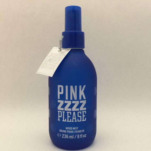 """1 Victoria's Secret PINK ZZZZ """"Sleep Please"""" Mood Mist 8 fl.oz Get Your sleep On"""