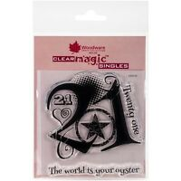 Woodware Craft Collection Woodware Clear Stamps - 535519 on sale
