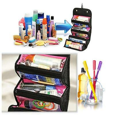 1x Women Multifunction Cosmetic Bag Organizer Travel Makeup Case Pouch Toiletry