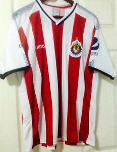 10b2dd37353 Image is loading CHIVAS-de-Guadalajara-Mexican-Soccer-Team-Jersey-Size-