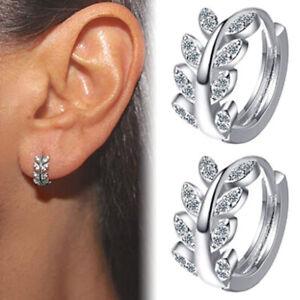 Hoop Boucles d'oreilles Mini Zircon Boucles d'oreilles Petites créol`H