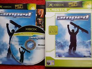 Details about AMPED FREESTYLE SNOWBOARDING ORIGINAL BLACK LABEL MICROSOFT  XBOX 3+ PAL