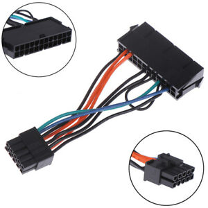 24Pin-Female-to-10Pin-Male-Adapter-Power-Supply-Cable-Cord-for-10PIN-Motherbo-UK