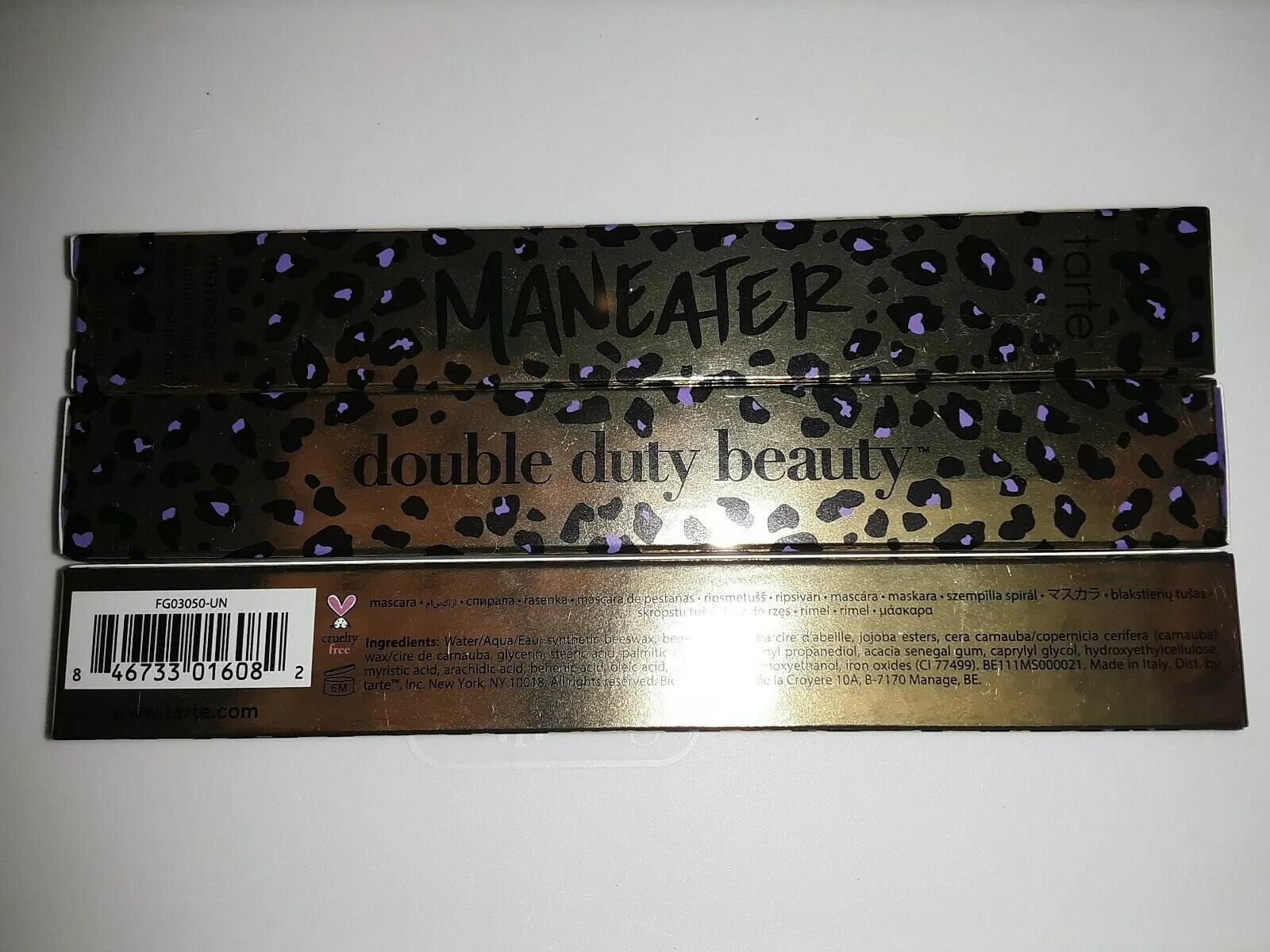 8c8ba7d0539 Full Size tarte Maneater Voluptuous Mascara Black 9ml 0.3oz for sale online  | eBay
