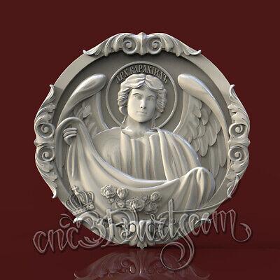 3D STL CNC Model Capital #26 file for CNC Router Carving Machine Printer Relief Artcam Aspire Cut3d