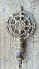 "Vtg Antique Lamp Finial Ornate Victorian 3-3/4"" Replacement Repair Parts"