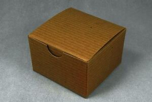 Small Brown Kraft Gift Boxes 3x3x2