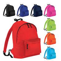 Childrens Junior Rucksack Backpack Kids Infant School Plain Bag Sports Swimming