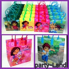 24 PCS DORA THE EXPLORER & DIEGO Nickelodeon LOOT/GOODY BAGS Birthday Child
