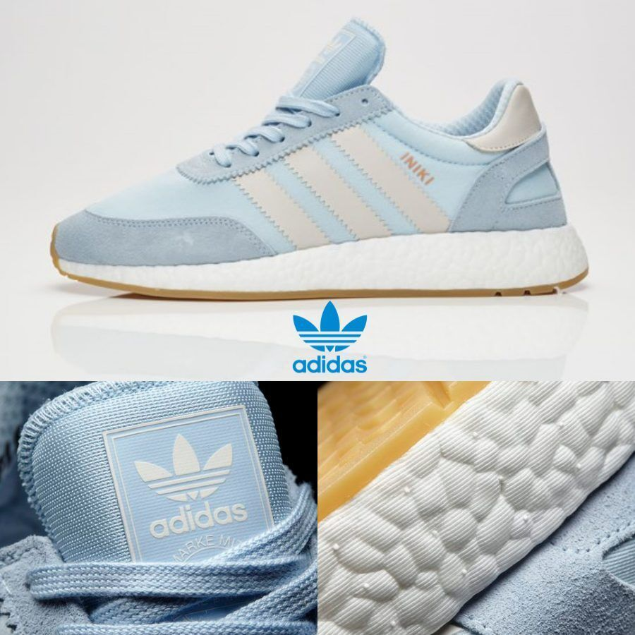 Adidas Originals INIKI Runner Chaussures Athletic Running Bleu  Gris  BB202018 SZ 4-13