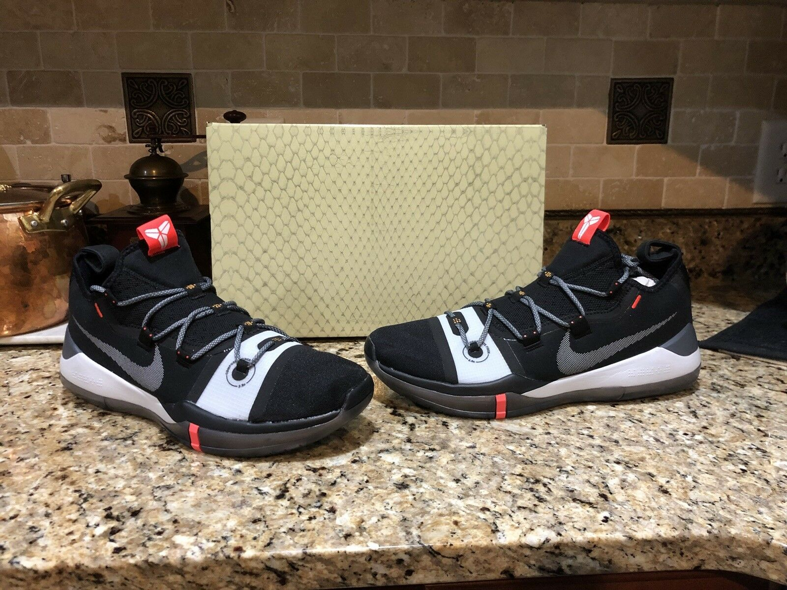 Nike Kobe AD Black Fundamentals Mamba Day Men's Basketball shoes 13