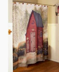 Rustic Country Primitive Outhouse