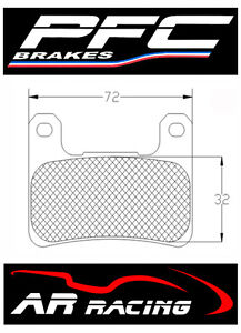Performance-Friction-Race-Brake-Pads-95-Comp-to-fit-Kawasaki-ZX10R-2008-2015