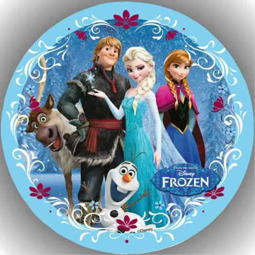 Oblate Frozen L16 Tortenaufleger Geburtstag Party Tortenbild Fondant