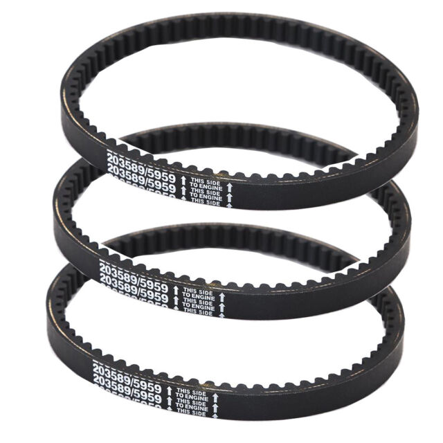 3 Pack 203589/5959 Go Kart Drive Belt 30 Series Replaces Manco 5959 Comet  203589