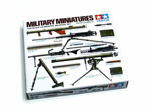 Tamiya-Military-Model-1-35-U-S-Infantry-Weapons-Set-Scale-Hobby-35121