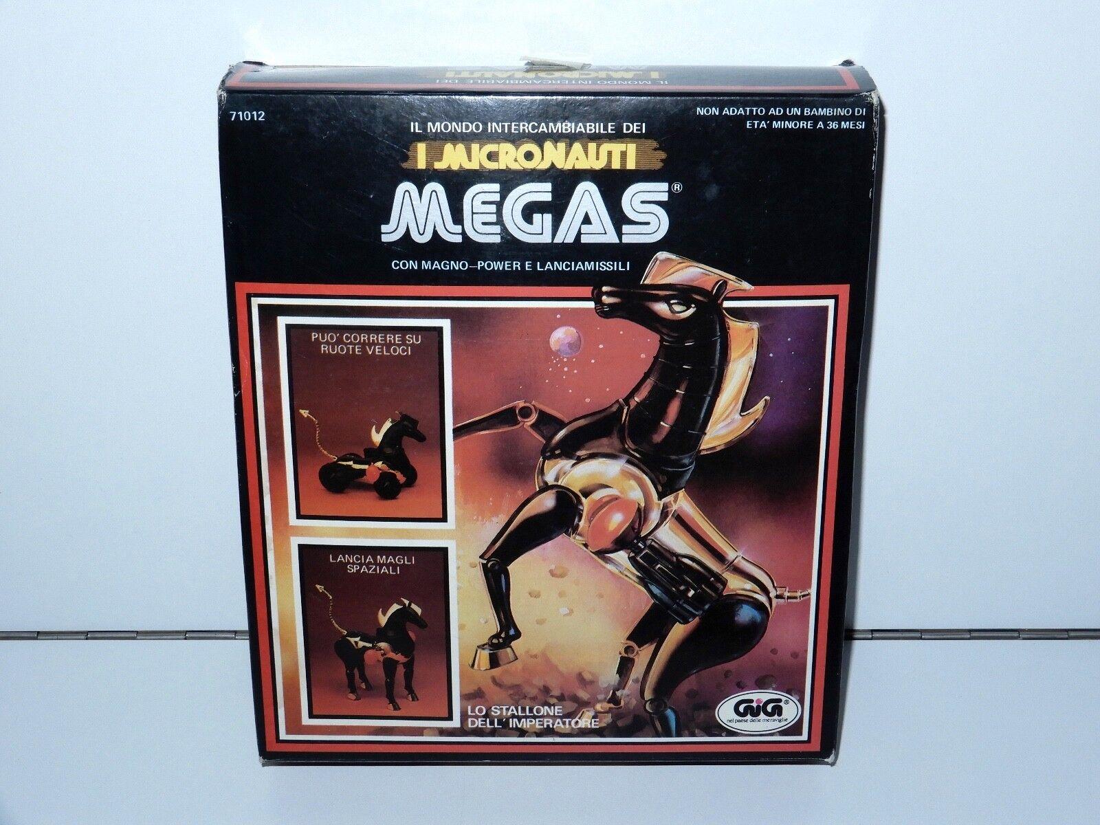 MICRONAUTS MEGAS MIB SEALED CONTENTS 1970s MEGO GIGI ITALY HTF