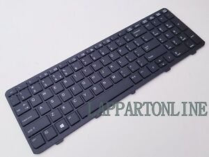 HP-Probook-450-G1-455-G0-G1-470-G1-Series-Laptop-US-Keyboard-With-Frame-NEW