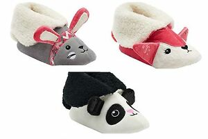 New Youth Girl/'s Cuddl Duds Slippers White//Black 67618 62Y