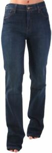 Original-Levi-039-s-Damen-Jeans-Hose-627-High-Waist-Straight-Woman-Dunkel-Blau-Levis