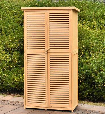 63 Outdoor Garden Storage Shed Wooden