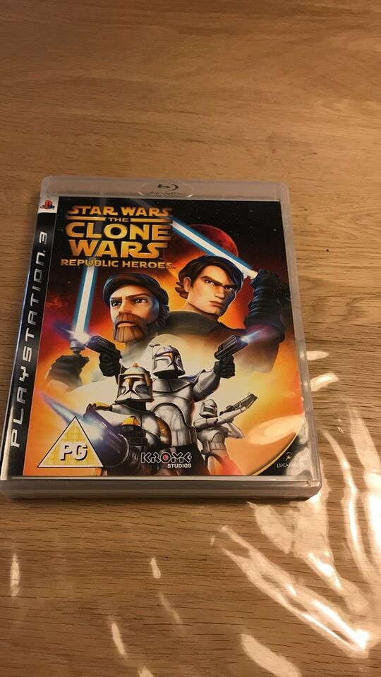 Star Wars the Clone Wars, PS3, action