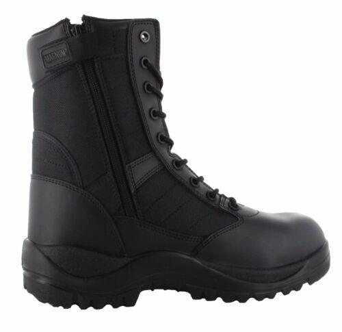 Boot Side Combat 8 Tactical Zip Uniform 0 Police Centurion Cadet Magnum Security CqxtXt