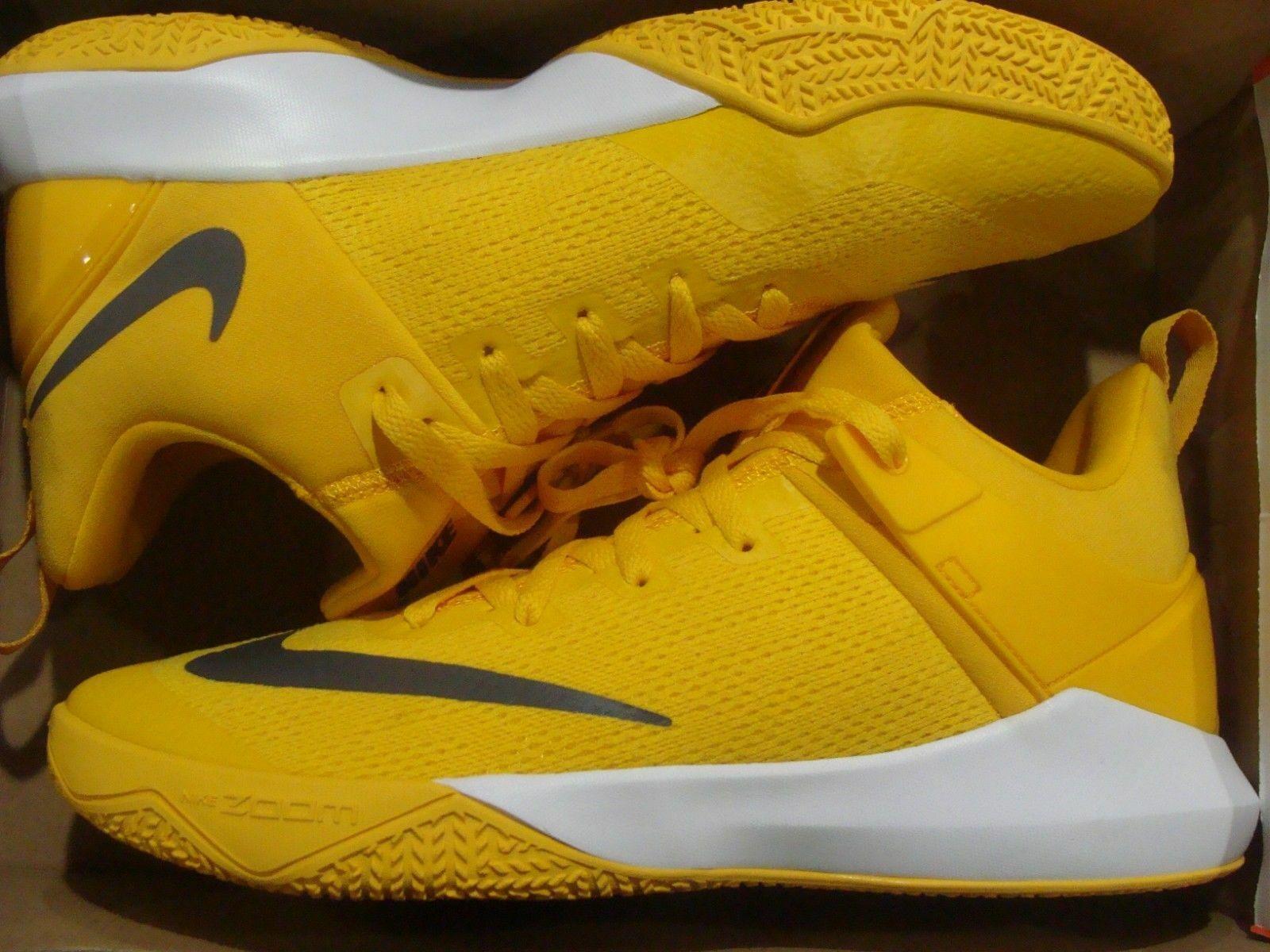 Nike Zoom Shift TB Promo University orange Grey Men's 942802 800 Size 13
