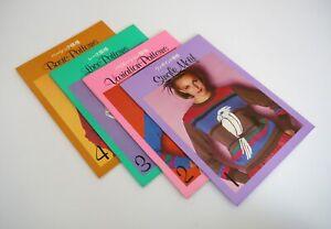 Electroknit modelli per maglieria Brother Electronic - 4 libri
