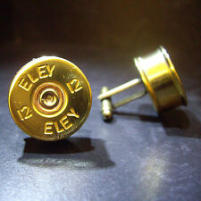Eley Shotgun Shell Cartridge Cap Cufflinks Clay and Game Shooting Steampunk