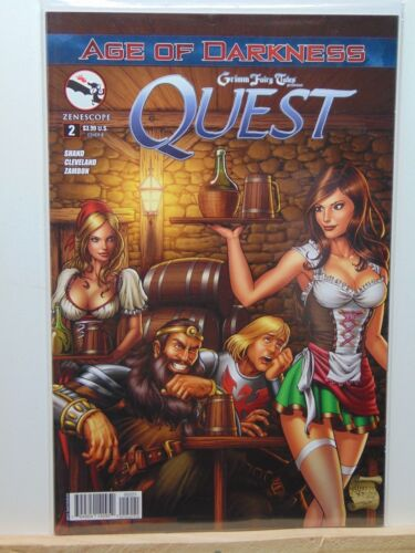 Quest #2 Cover B Grimm Fairy Tales Zenescope Variant CB6164