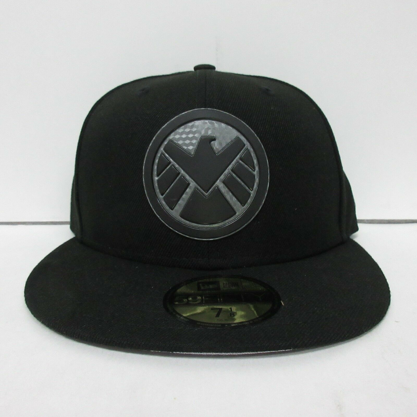 Marvel SHIELD Logo PX Hexshine New 5950 Era 5950 New Fitted Hats 7 1/2 1/4 1/8 3/8 5/8 ec0eb8