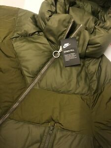 Details about NIKE SPORTSWEAR DOWN FILL Womens Parka JACKET COAT NEW WITH TAGS MEDIUM AH8694